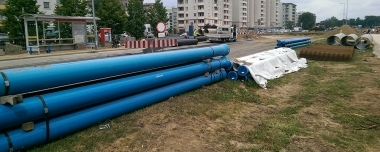Tramroad line to Tarchomin resident area in conjunction with reconstruction of Swiatowida street in Warsaw