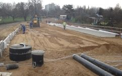 Construction of expressway (S-8) – Armii Krajowej route from