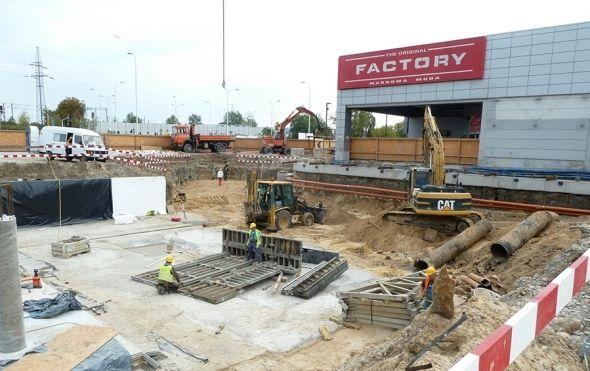 Rozbudowa CH Factory Outlet w Ursusie