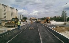 Tram line to Tarchomin resident area in conjunction with reconstruction of Swiatowida street in Warsaw