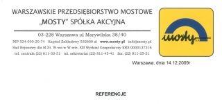 Warszawskie Przedsiębiorstwo Mostowe MOSTY S.A.