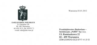 Zarząd Drog Miejskich w Warszawie